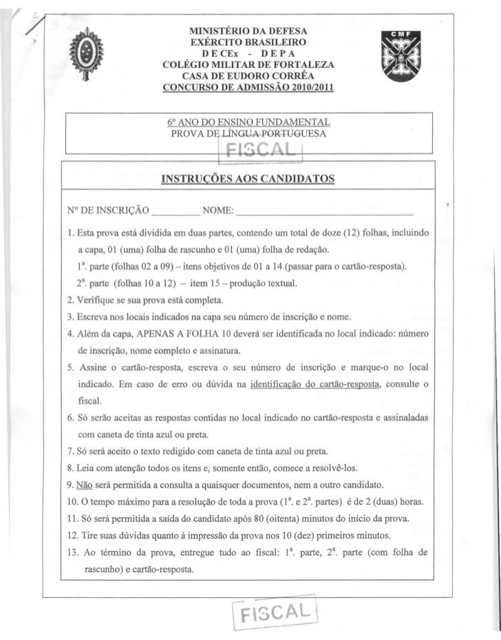MINISTÉRIO DA DEFESA                              EXÉRCITO BRASILEIRO                                DECEx    - DEPA      ...
