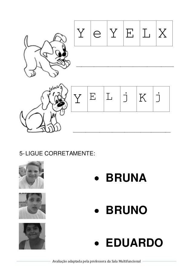 Avaliação de Língua Portuguesa Slide 3