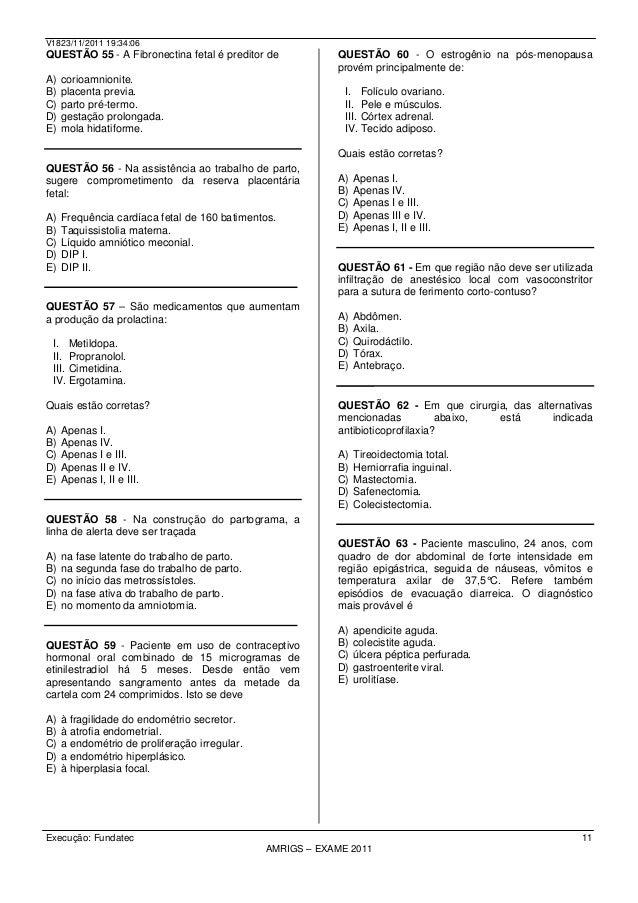 Exame sorologico