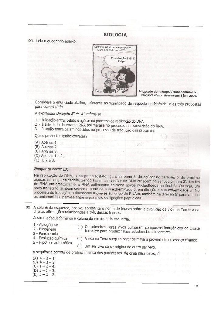 Provas comentadas iii