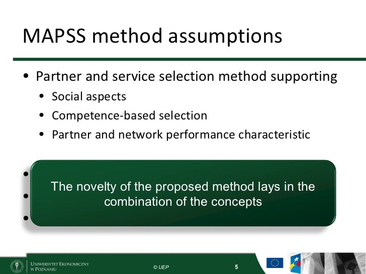 MAPSS a MultiAspect Partner and Service Selection