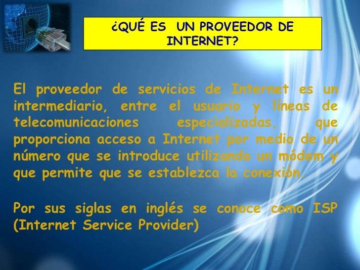 Proveedores internet Slide 2