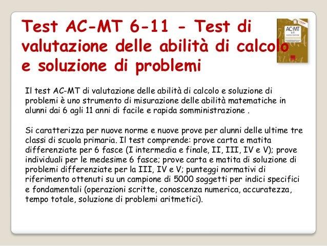 Prove E Test Standardizzati Per La Matematica