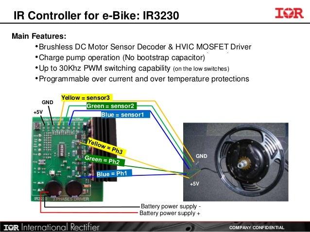 Ebike sensorless motor control for Brushless dc motor control using digital pwm techniques