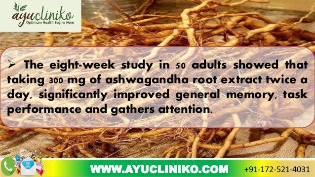 proven health benefits of ashwagandha