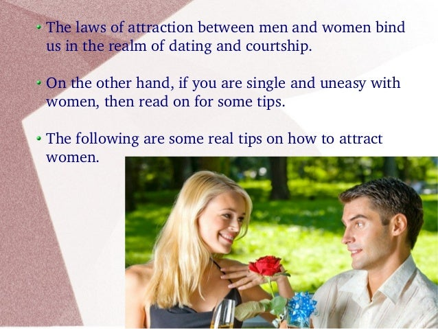 Tips On How To Attract Women