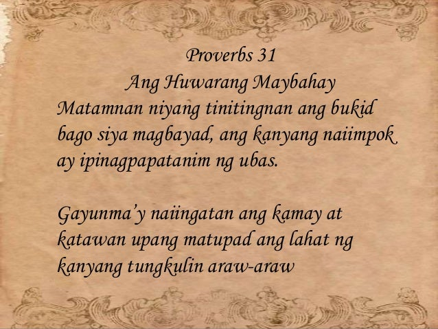 Outline of Proverbs - truthsaves.org