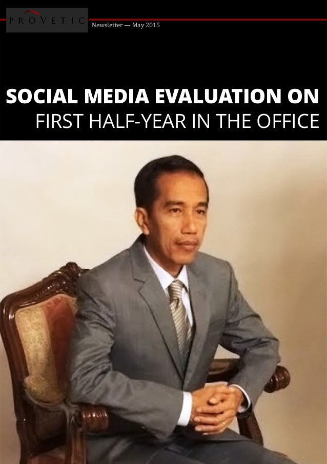 Newsletter — May 2015 SOCIAL MEDIA EVALUATION ON FIRST HALF-YEAR IN THE OFFICE