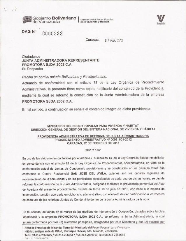 Providencia administrativa (5)