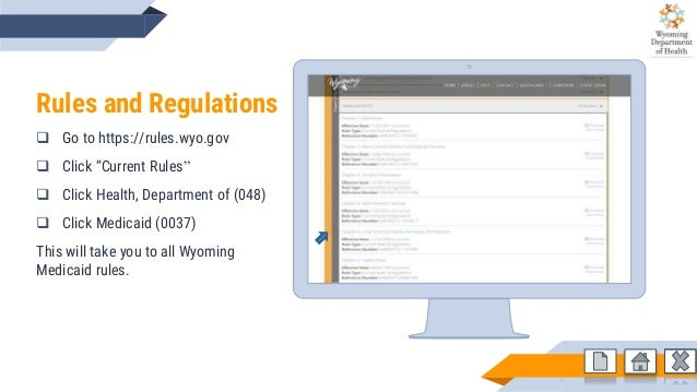 Provider Manual Training Wyoming