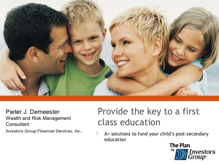 Pieter J. Demeester                         Provide the key to a firstWealth and Risk ManagementConsultant                ...