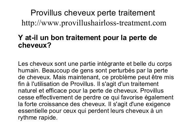 provillus cheveux perte traitement. Black Bedroom Furniture Sets. Home Design Ideas