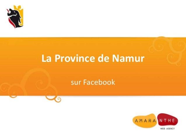 La Province de Namursur Facebook