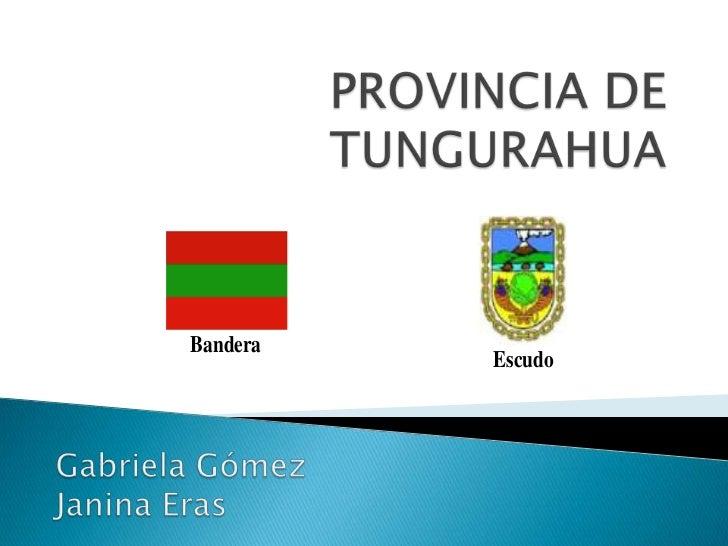 Bandera          Escudo