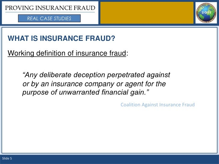 insurance fraud case studies australia The insurance fraud bureau of australia, established by insurance council of australia members in december 2010, is coordinating an industry response in order to help drive down the impact that insurance fraud has on us all.
