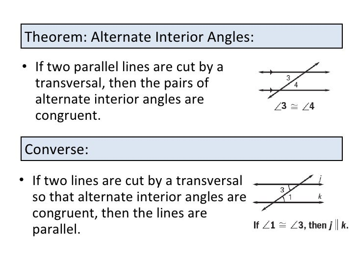 Same Side Interior Angles Are Supplementary Proof Www