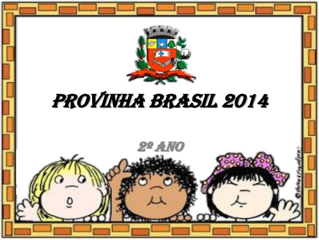 Provinha Brasil 2014 2º ano