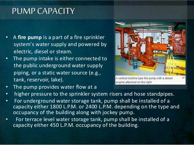 fire protection system in building pdf