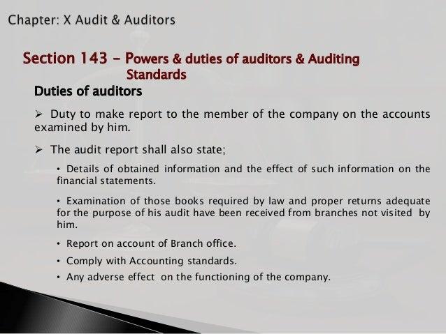 duties of an auditor pdf