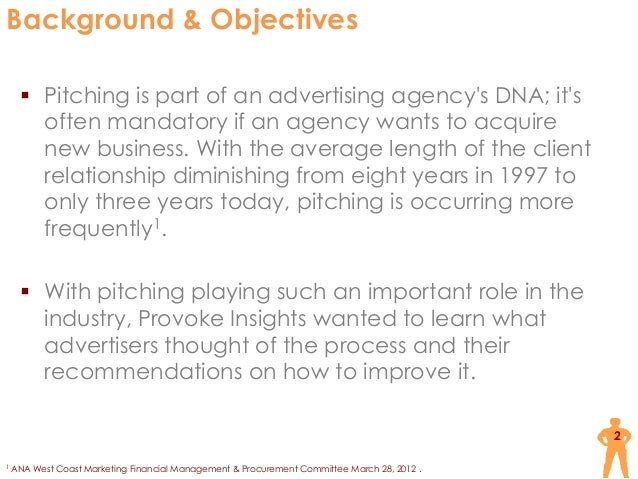 Advertising Pitches Research by Provoke Insights Slide 2