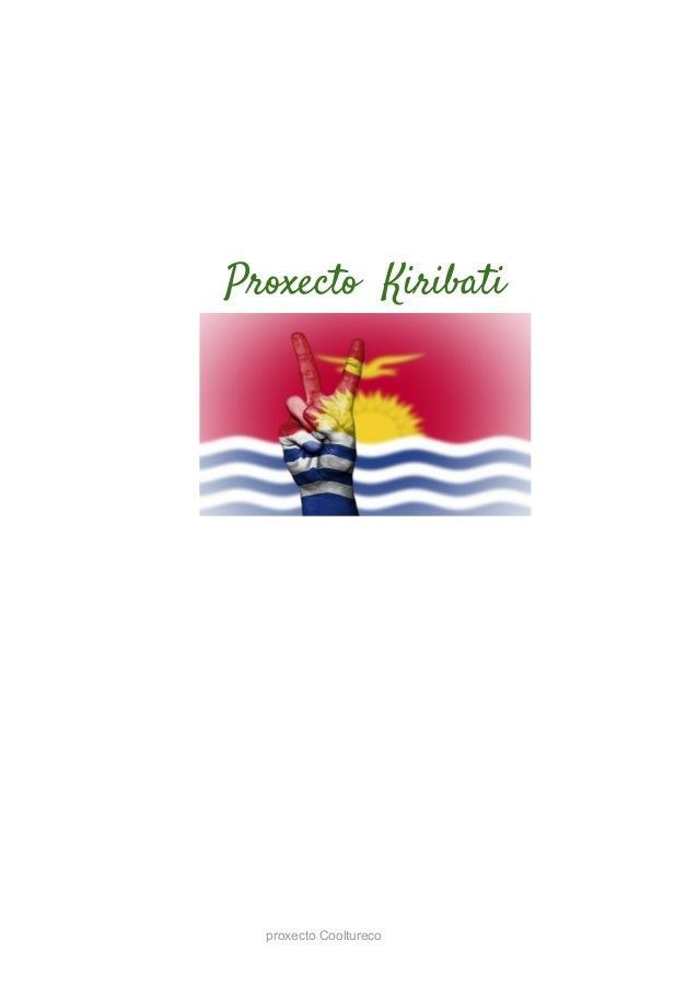 Proxecto Kiribati proxecto Cooltureco
