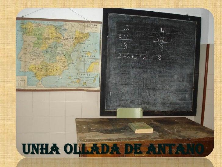 UNHA OLLADA DE ANTANO