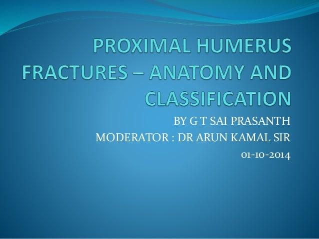 BY G T SAI PRASANTH MODERATOR : DR ARUN KAMAL SIR 01-10-2014