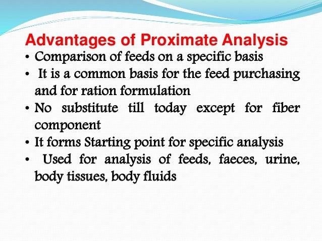Proximate p[rinciples