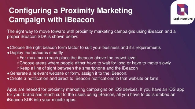 Proximity Marketing Solutions enhancing Businesses