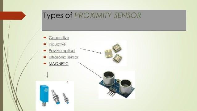 Types Of Sensors : Proximity sensors