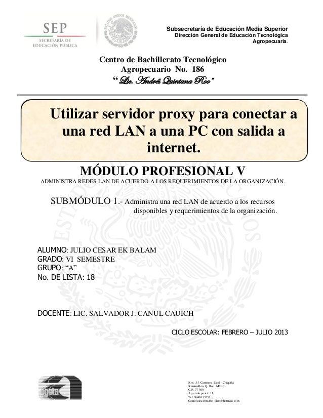 Subsecretaría de Educación Media Superior                                        Dirección General de Educación Tecnológic...