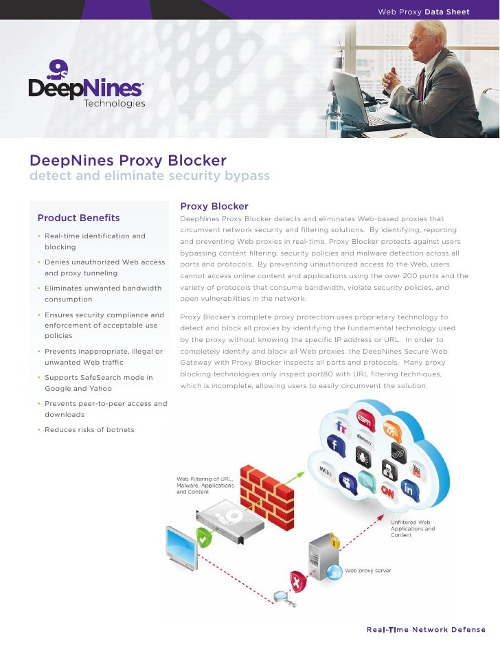 Web Proxy Data Sheet     DeepNines Proxy Blocker detect and eliminate security bypass                                     ...