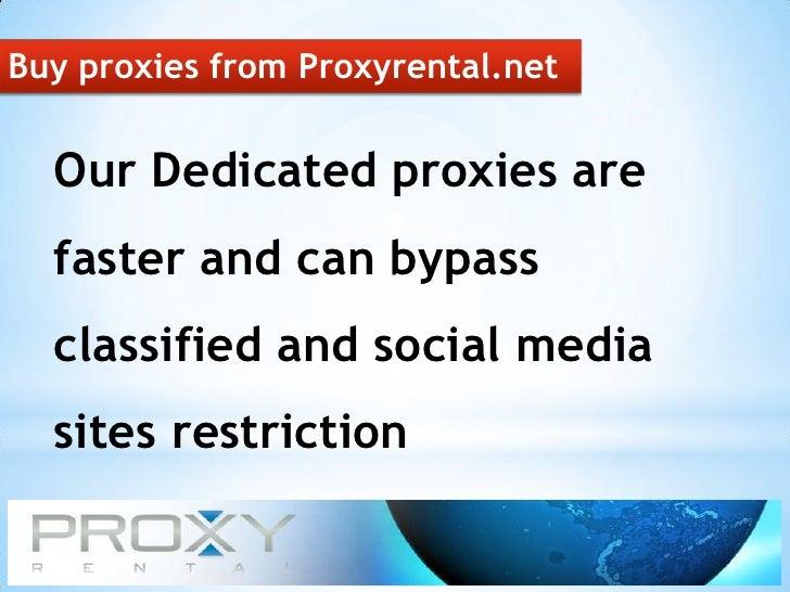 Buy Proxies For Best USA Proxy IP Address
