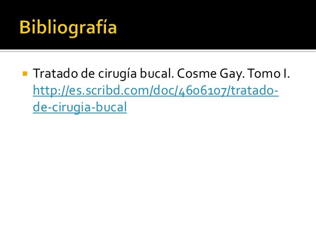 cirugia bucal cosme gay pdf