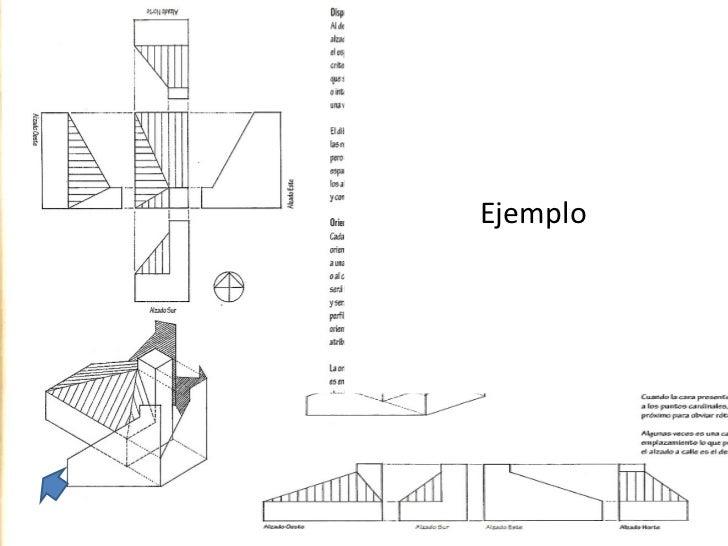 Proyección diédrica ortogonal ejercicios Slide 2