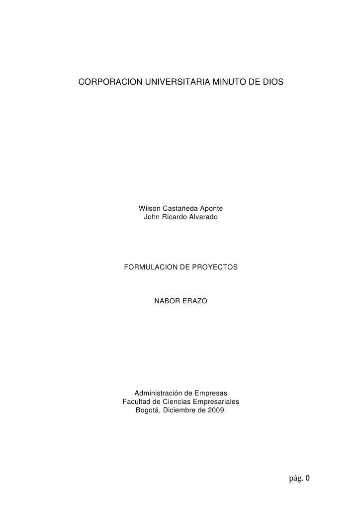 CORPORACION UNIVERSITARIA MINUTO DE DIOS                 Wilson Castañeda Aponte              John Ricardo Alvarado       ...