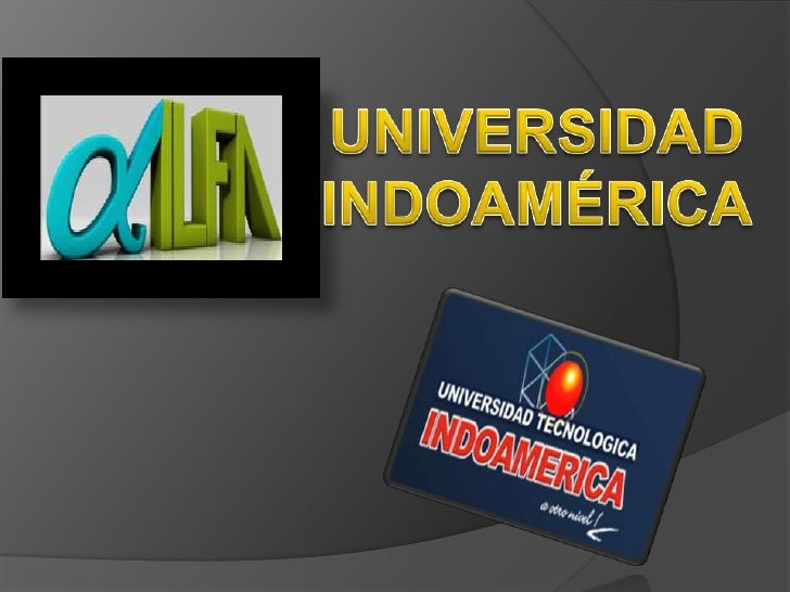 UNIVERSIDAD INDOAMÉRICA<br />