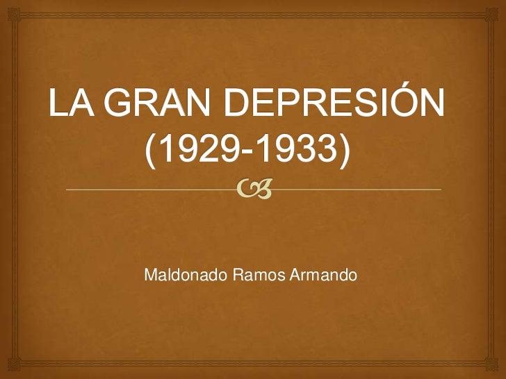 Maldonado Ramos Armando