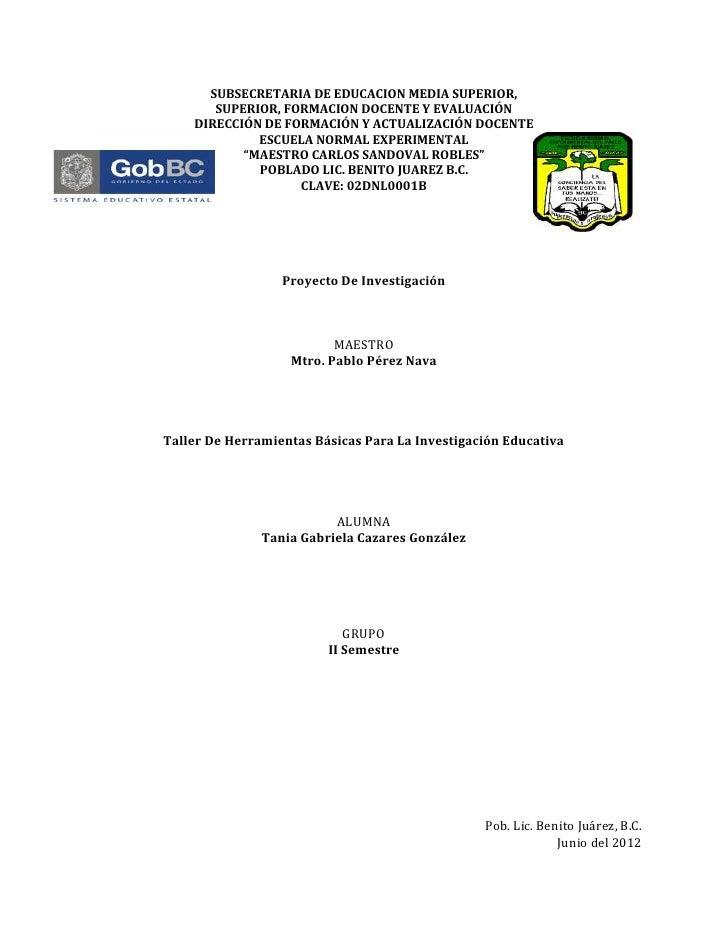 SUBSECRETARIA DE EDUCACION MEDIA SUPERIOR,       SUPERIOR, FORMACION DOCENTE Y EVALUACIÓN    DIRECCIÓN DE FORMACIÓN Y ACTU...