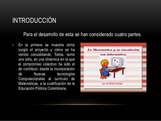 Proyecto de tic en matematicas Slide 2