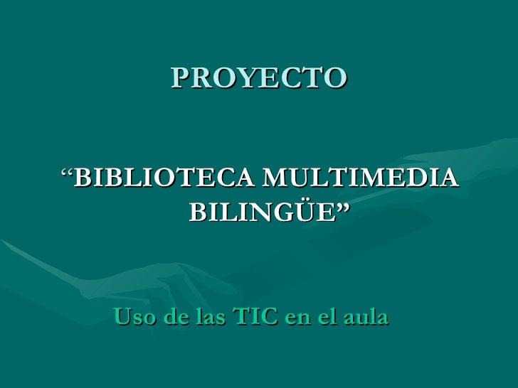Proyecto Bmb Slide 2