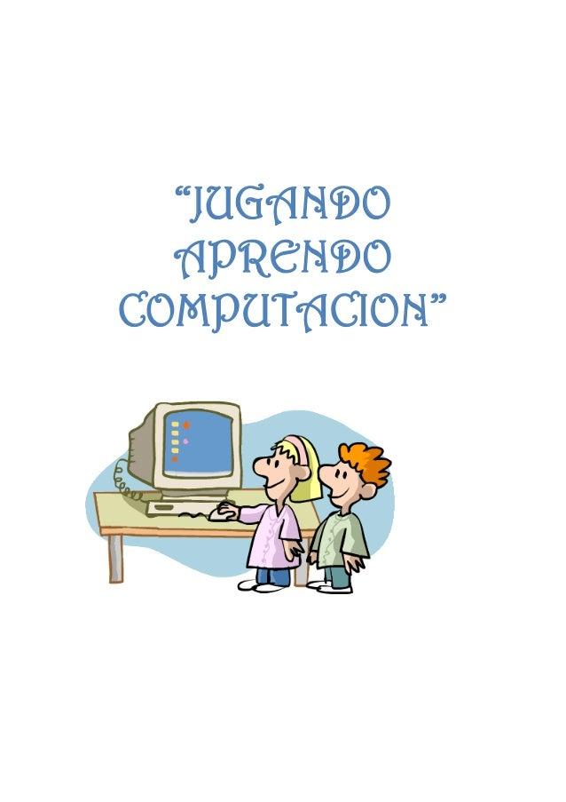Maestra de computacion con juguete - 3 7