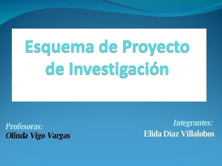 Integrantes:  Elida Díaz Villalobos Profesoras: Olinda Vigo Vargas