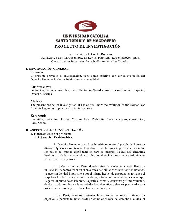 Proyecto Historia Universal Pdf