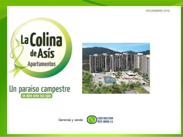 6B 6A 5B 5A NOVIEMBRE 2016 Gerencia y vende: