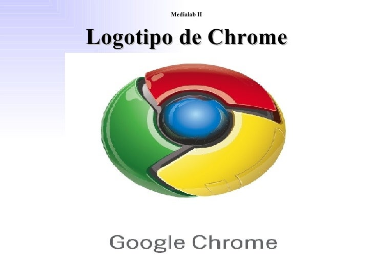 Logotipo Chrome Medialab II Logotipo de Chrome