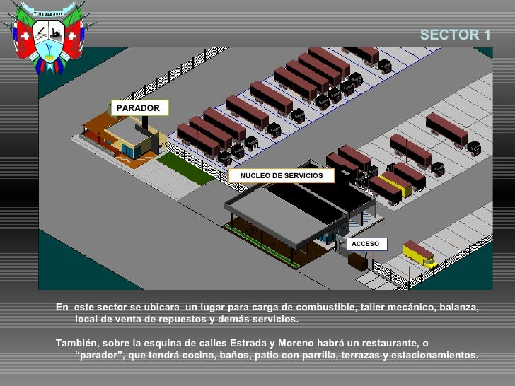 Proyecto playa camiones for Busco arquitecto para proyecto
