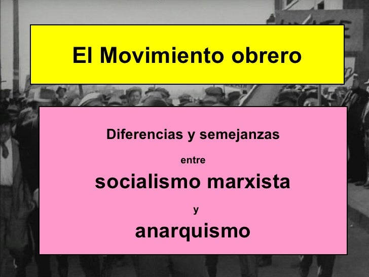 Marxismo y anarquismo pdf download