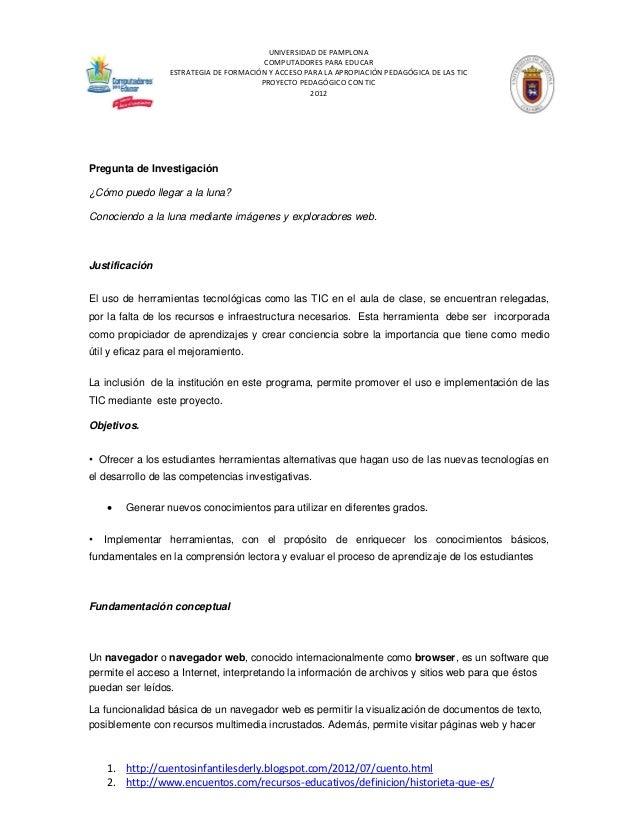 UNIVERSIDAD DE PAMPLONA  COMPUTADORES PARA EDUCAR  ESTRATEGIA DE FORMACIÓN Y ACCESO PARA LA APROPIACIÓN PEDAGÓGICA DE LAS ...