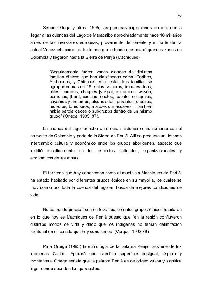 Los desplazamientos ind genas y la misi n guaicaipuro un for Arredamento etnico bari